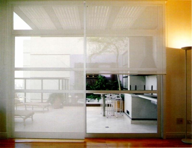 Cortina Rolô Transparente Orçamento Jardim Orly - Cortina Rolo área Externa