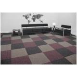 carpete em placa 50x50 preço Embu das Artes