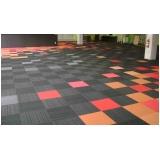 carpete em placa 50x50 Cidade Jardim