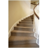 carpete para escada Vila Clementino