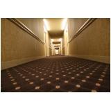 carpete para hotéis Jaguaré