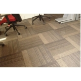 carpetes em placas para piso elevado Vila Alexandria