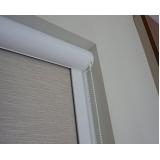 colocação de cortina rolo com guia Jaraguá