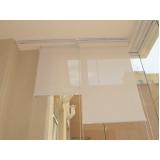 colocação de cortina rolo com trilho deslizante Pedreira