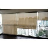 colocação de cortina rolo varanda Itaim Bibi