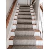 comprar carpete para escada Pedreira