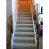 comprar carpetes para escada Vila Romana