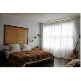 comprar cortina de linho para quarto Campo Belo