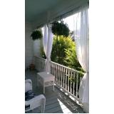 comprar cortina de tecido para varanda Zona Leste