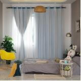 cortina blackout de tecido para quarto Mandaqui