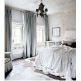 cortina de linho para quarto Perus