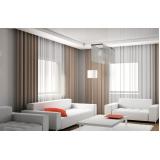 cortina de linho para sala preço Santana de Parnaíba