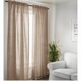 cortina de linho Bela Vista