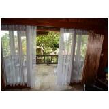 cortina de tecido para varanda preço Brooklin