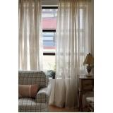 cortina de voal para sala preço Francisco Morato