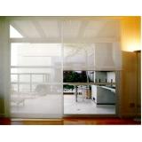 cortina rolô transparente orçamento Pinheiros