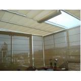 cortina romana de teto ABCD