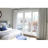 cortinas blackout para quarto de casal Água Branca