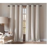 cortina de linho com blackout