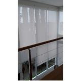 cortinas rolo área externa Diadema