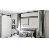 cortinas rolo para quarto Brooklin