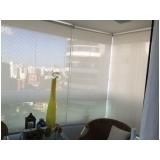 cortinas rolo para sacada Campo Belo