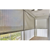 cortinas rolô para varanda Diadema