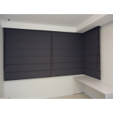 cortinas romana blecaute Jockey Club