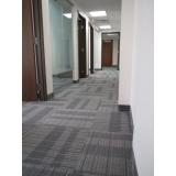 instalação de carpete em placas 60x60 Zona Leste