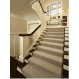instalação de carpete para escada Alphaville