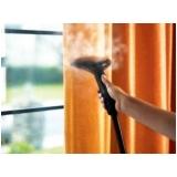 lavagem a seco de cortinas Bela Cintra