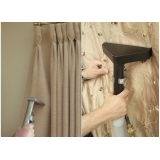 lavagem de cortina de linho Bairro do Limão