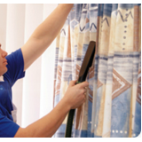 lavagem de cortinas a seco Taboão da Serra