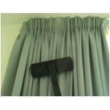 lavagem de cortinas de linho Santo Amaro