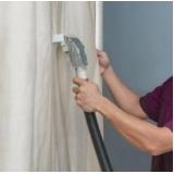 lavagem a seco de cortinas