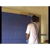 lavagem de cortinas romanas