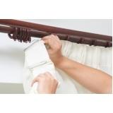 lavagem e manutenção de cortinas