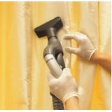 lavagem de cortinas Sumaré