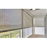 mais barata cortina rolô para varanda Pinheiros
