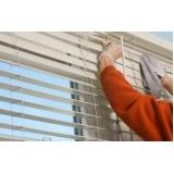 manutenção de persiana horizontal