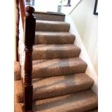 onde comprar carpete para escada Casa Verde