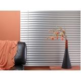 persiana horizontal de alumínio Vila Romana