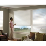 persiana motorizada hunter douglas Jardins