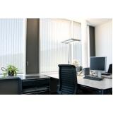 persiana vertical para escritório preço Jardim América