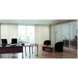 persiana vertical para escritório Zona Sul