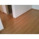 piso laminado para consultório preço Água Branca