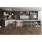 piso vinílico eucafloor para cozinha Casa Verde