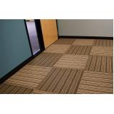 quanto custa carpete em placa importado Sacomã