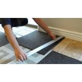 quanto custa carpete em placas instalação Santo André