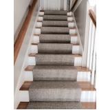 quanto custa carpete para escada Vila Marcelo